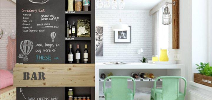 Una parete di lavagna in casa - Casa.it