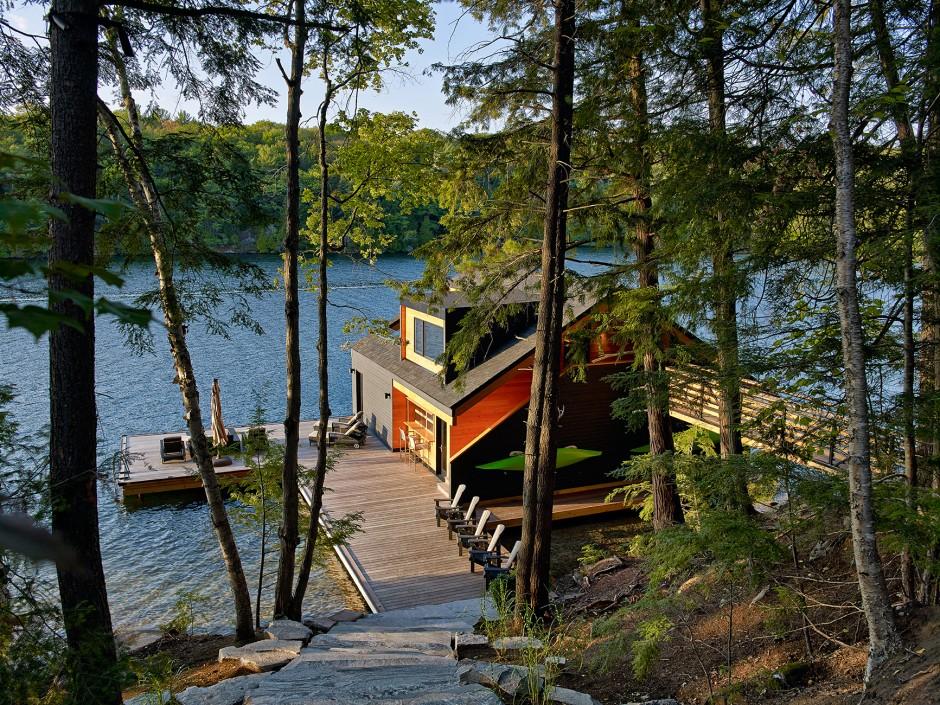 La casa sul lago for Costruire una casa sul lago
