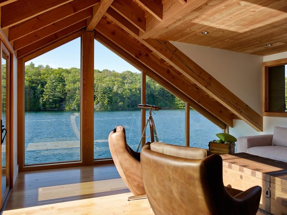 La casa sul lago for Disegni casa sul lago con vista sul lago