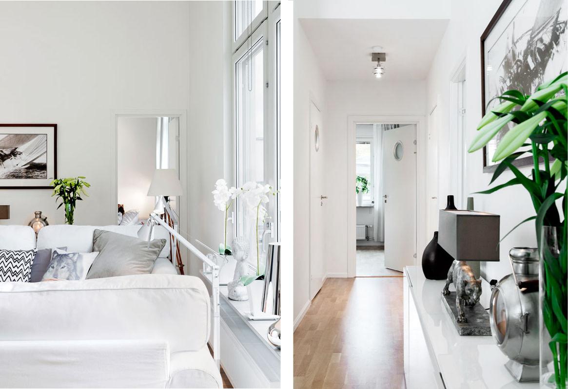 Arredamento casa bianco cool tavolo simply allungabile for Arredare casa in bianco