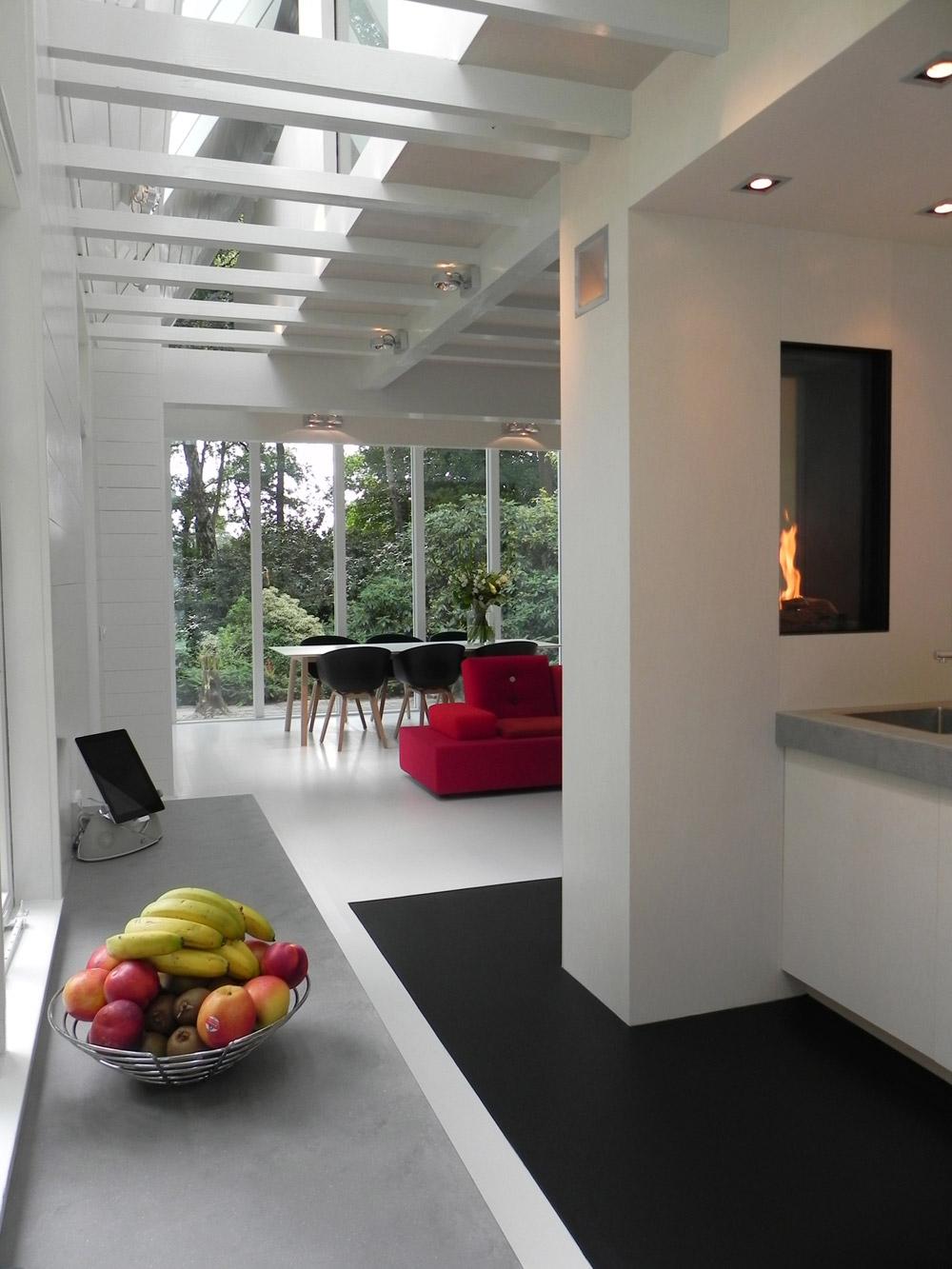 La spettacolare ristrutturazione di una casa di campagna for Casa di vetro contemporanea