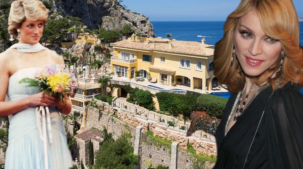 ex residenza estiva della Principessa Diana