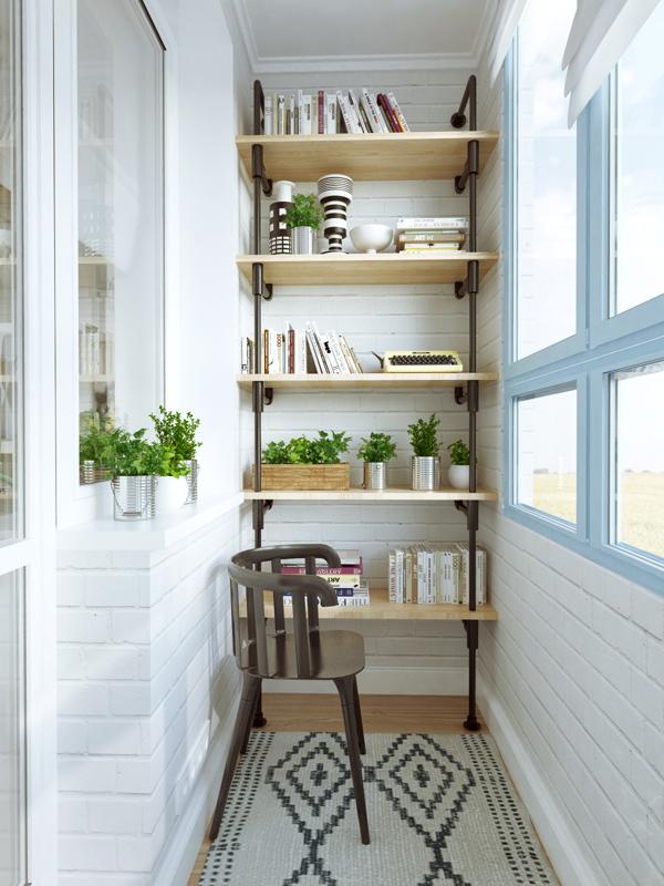 40 mq straordinari e tanti consigli per render la vostra casa più ... - Ricavare Angolo Studio In Soggiorno 2