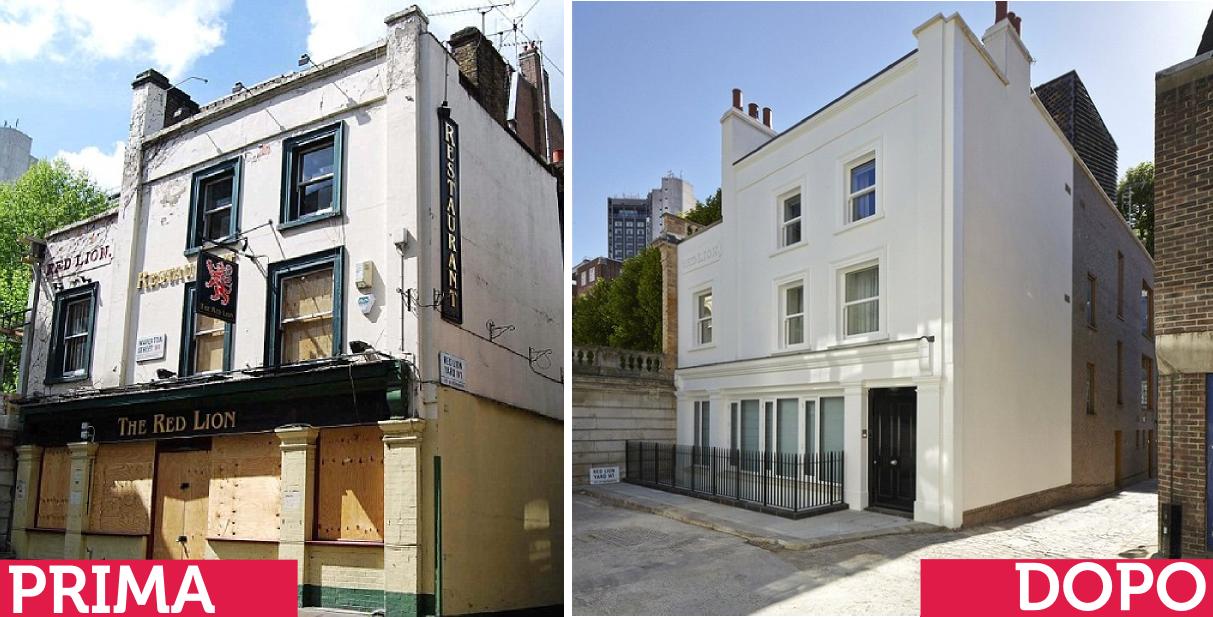 Ristrutturazioni incredibili prima e dopo di un ex pub - Residenza prima casa ...