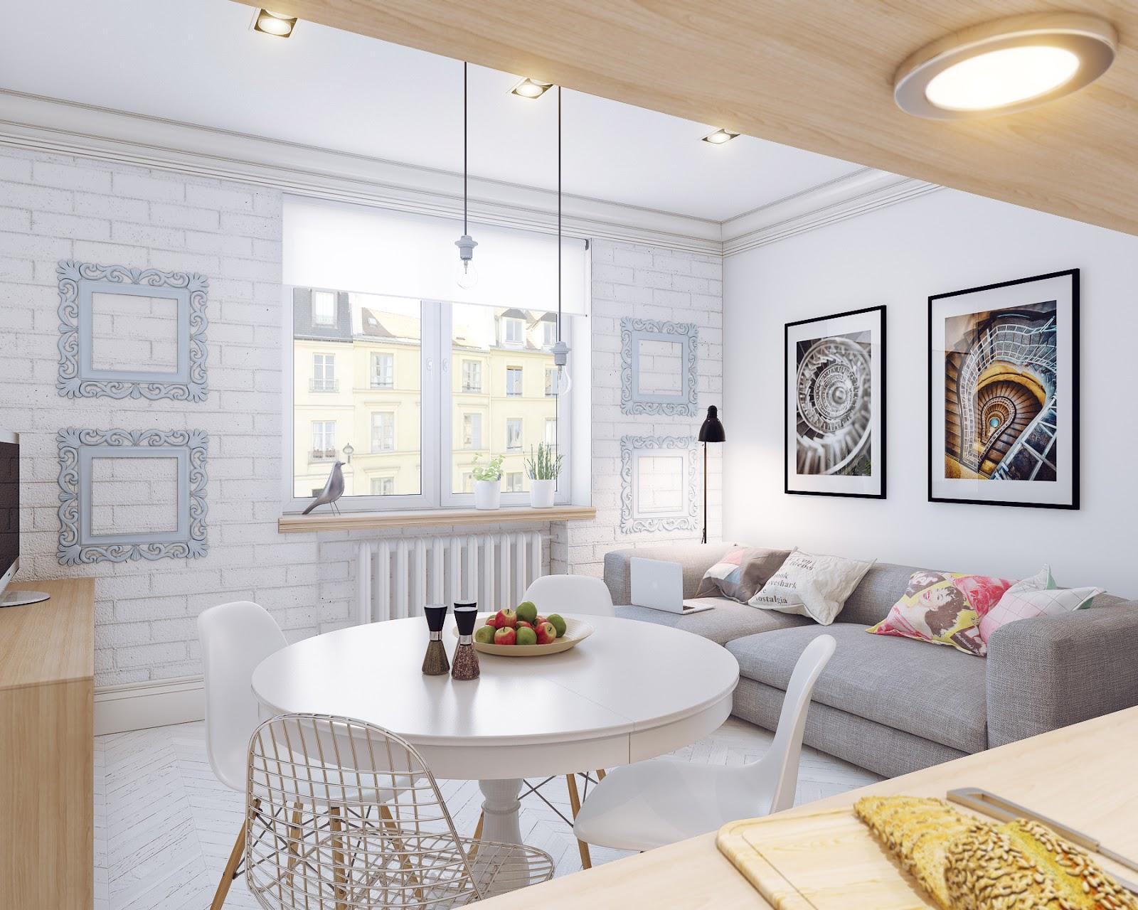 Arredare piccoli spazi giocando con i colori 25 mq for Decoracion casa 90m2