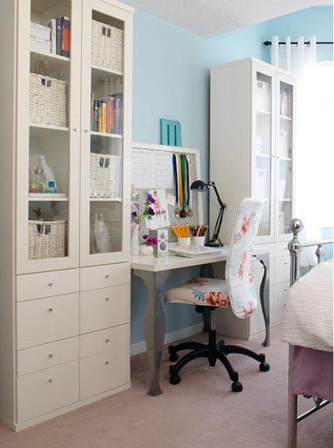 Idee e soluzioni per creare la perfetta zona relax in casa - Angolo studio ikea ...