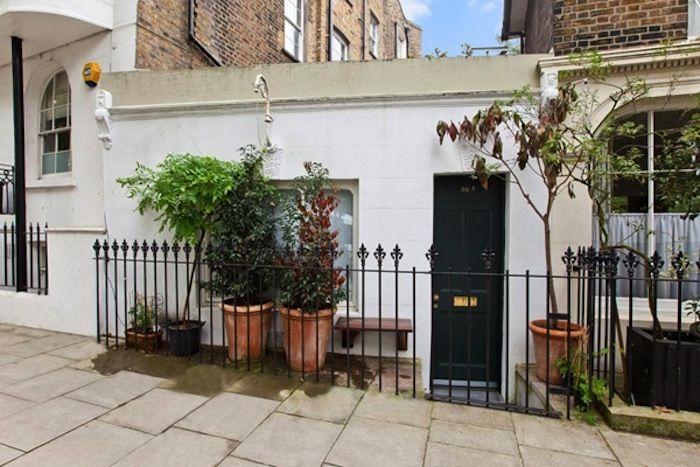 Londra 20 mila euro al mq per la casa pi piccola della citt for Design frontale della piccola casa