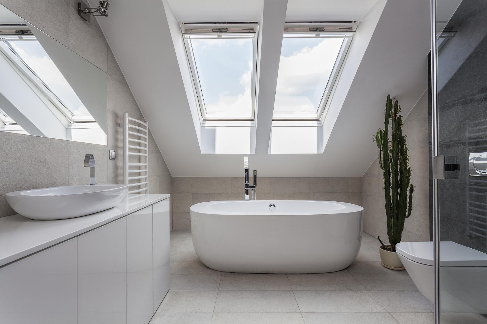 Come arredare una mansarda for Badezimmergestaltung modern
