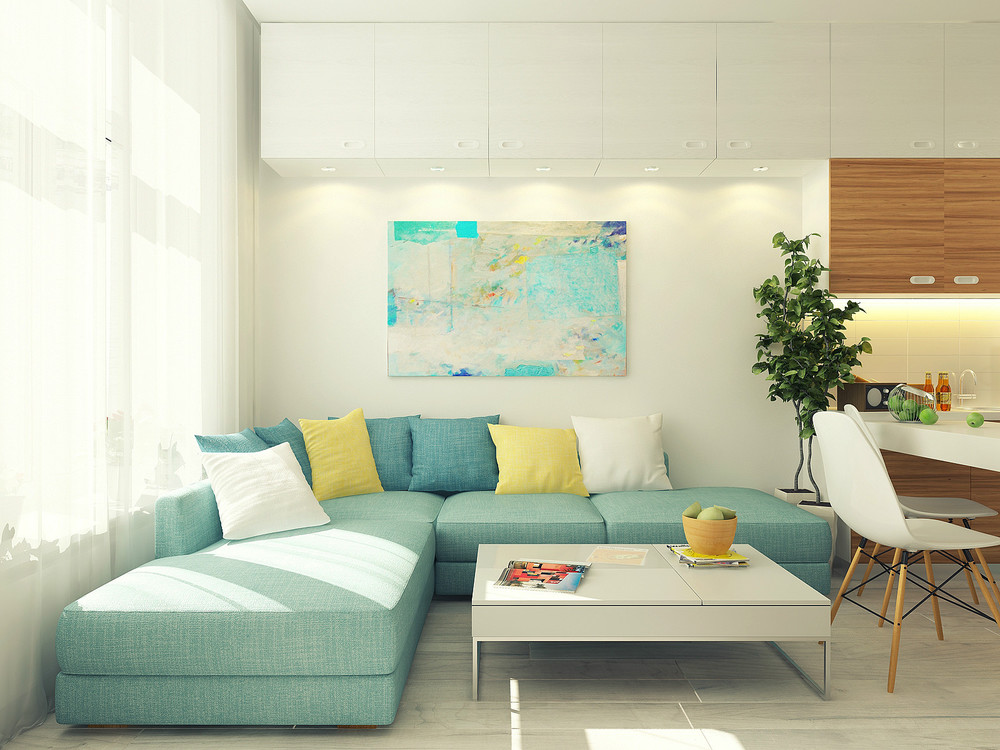 Caratteristica principale del piccolo appartamento ? la luminosit? ...