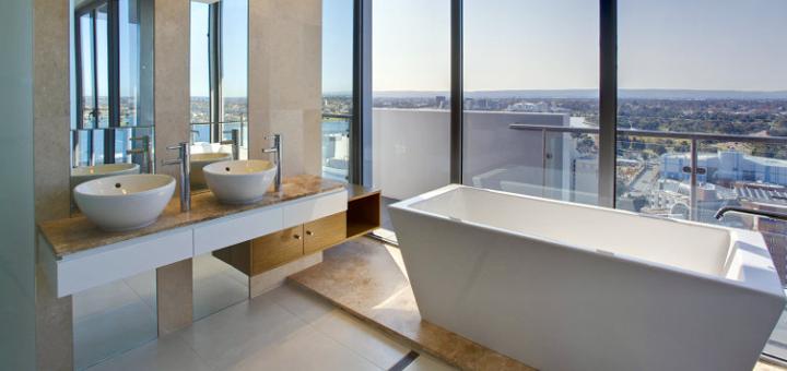 40 mq belli funzionali e moderni - Arredare il bagno moderno ...