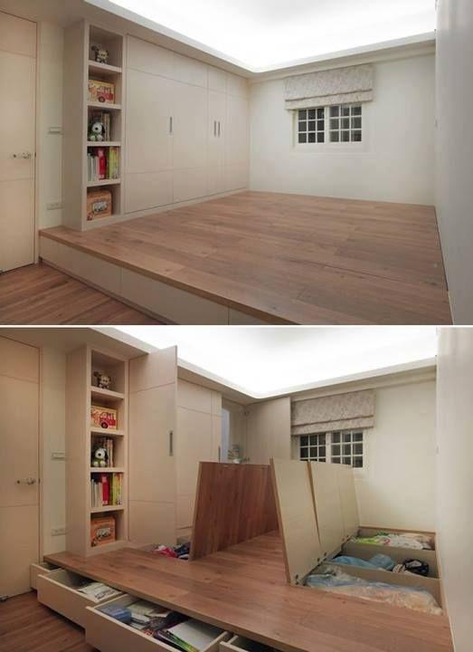 creare spazio in casa