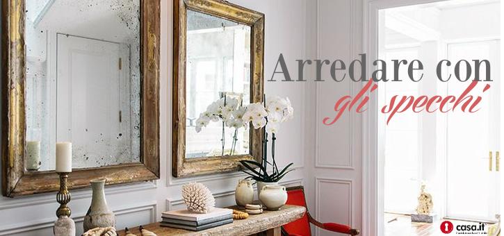 Organizzare piccoli spazi in casa il trucco dello specchio - Specchi in casa ...