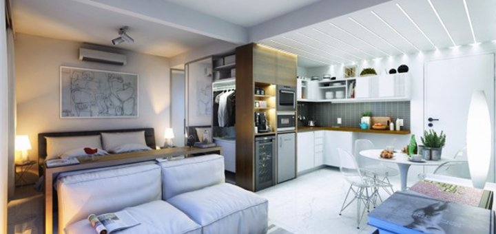 45 Sqm Apartment Interior Design