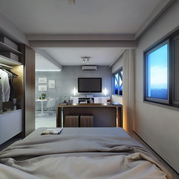 Arredare un monolocale di 30 mq il progetto perfetto for Progetti di master suite