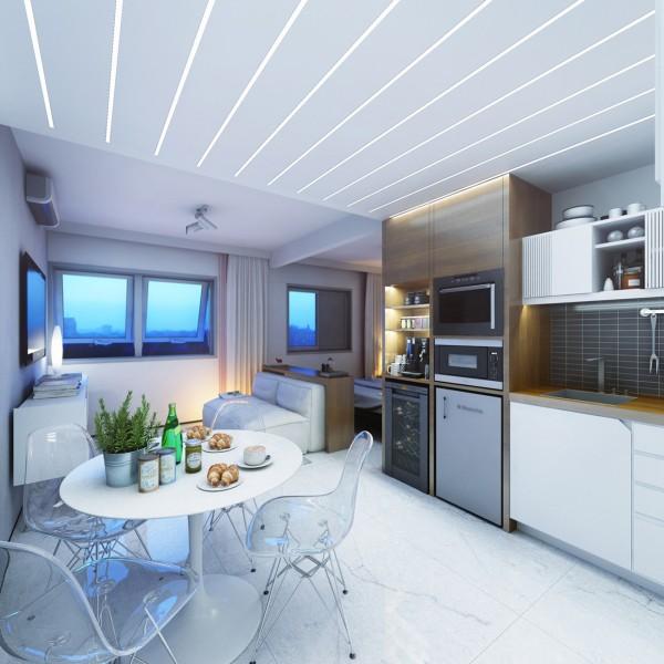 Arredare un monolocale di 30 mq il progetto perfetto for Arredare piccoli appartamenti