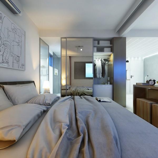 Arredare un monolocale di 30 mq il progetto perfetto for Appartamenti di design