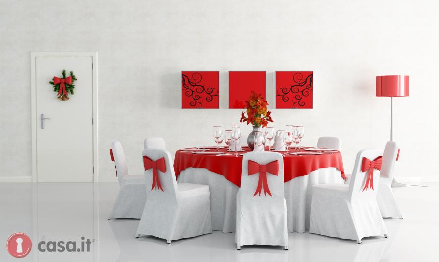 come addobbare la casa per natale tavola natalizia : Arredare casa per Natale: porta in casa la magia del Natale