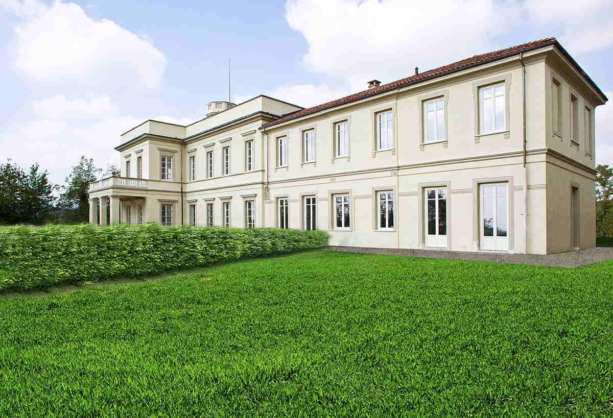 In vendita la residenza estiva di silvio pellico for Case moderne in vendita in nj