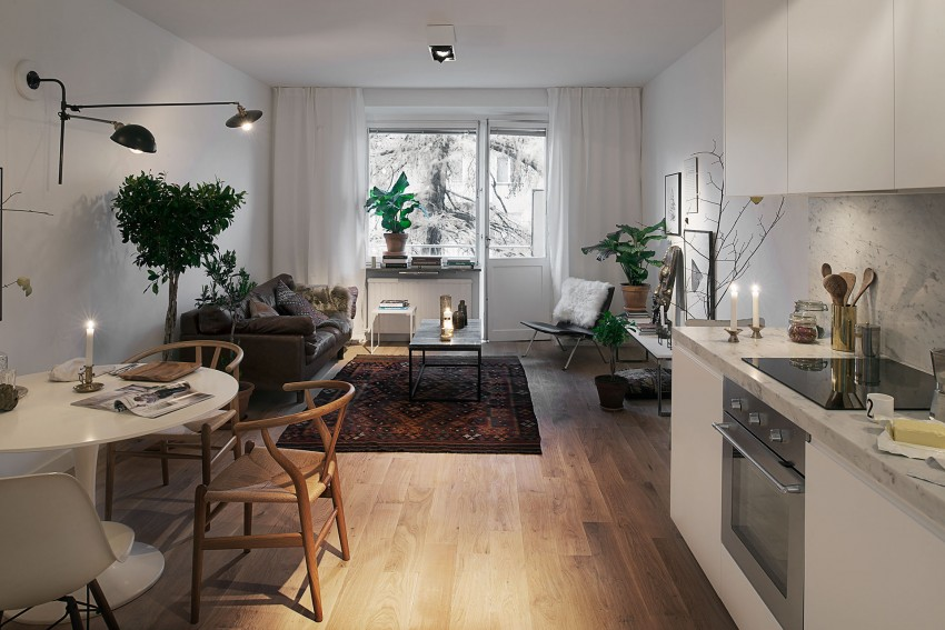 Arredare 40 mq un accogliente appartamento svedese for Arredare un appartamento
