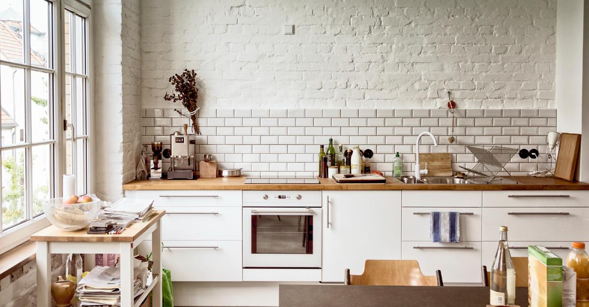 Come scegliere le piastrelle - Piastrelle cucina bianche ...