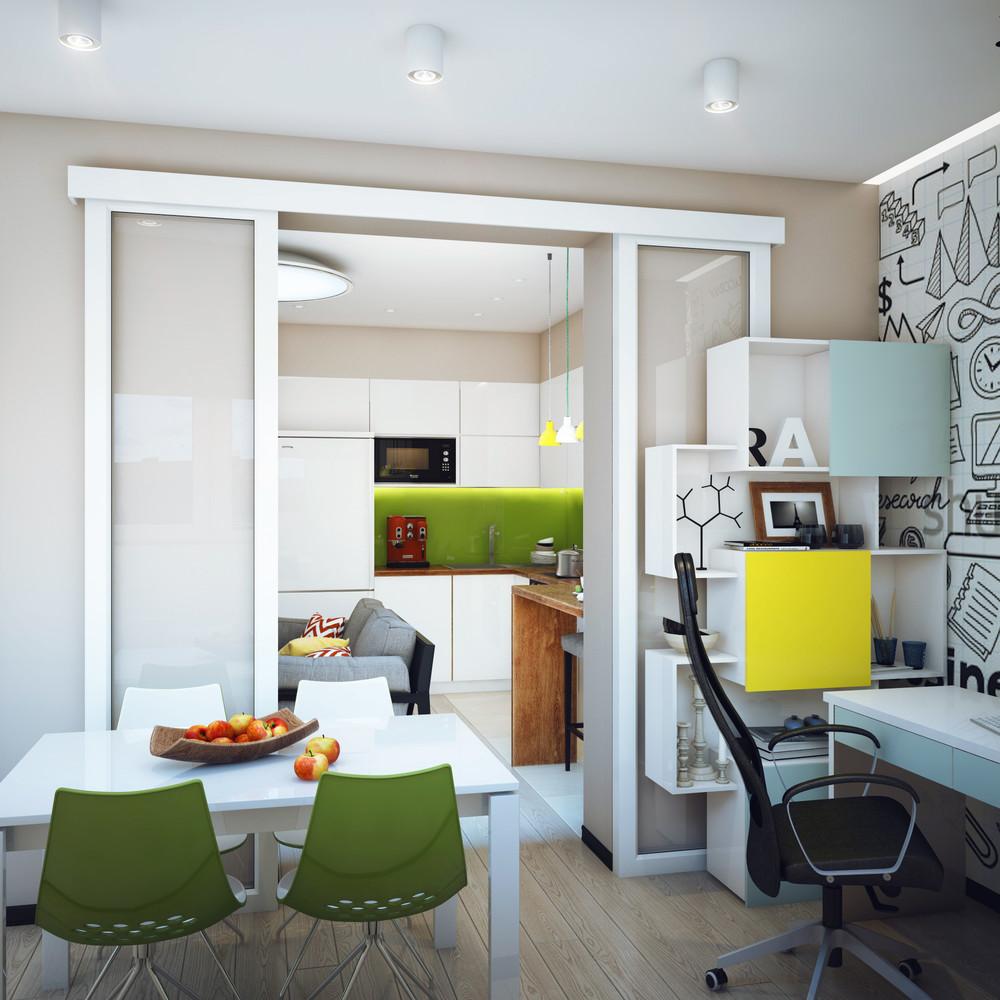 Lavorare da casa l 39 appartamento perfetto for Camera da letto e studio