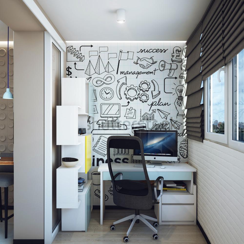 Lavorare da casa l 39 appartamento perfetto for Camera da letto studio