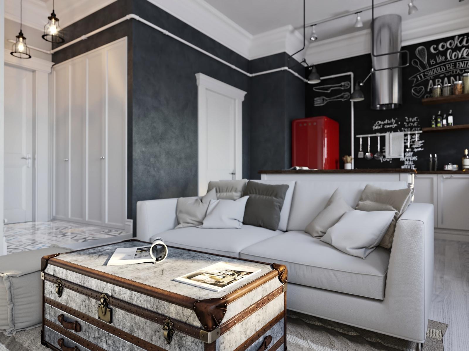 Assez Un bilocale moderno, giovane e elegante - Casa.it AE54