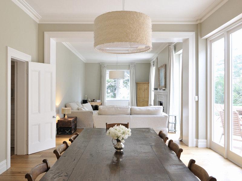 Stile e charme una bella casa di campagna - Colori interno casa ...