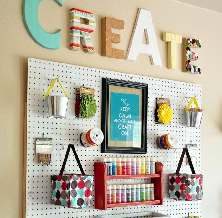 Creare un angolo hobby in casa - Creare in casa fai da te ...