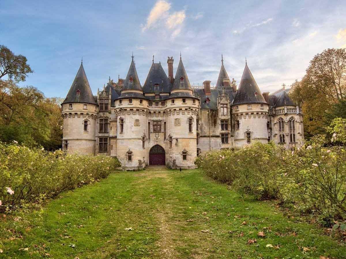 le ch u00e2teau de vigny  un castello da favola in vendita al prezzo di un attico