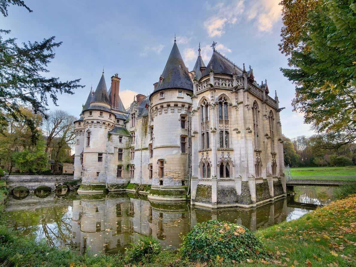 Le ch teau de vigny un castello da favola in vendita al for Piani di casa in stile chateau francese