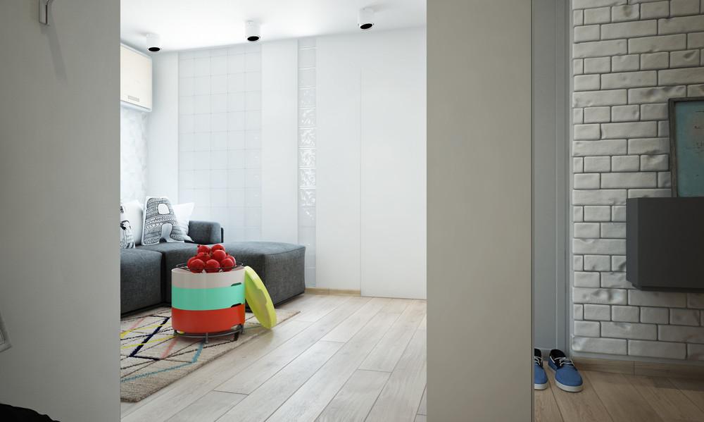 Casabook immobiliare un bel progetto per arredare un for Arredare appartamento 100 mq