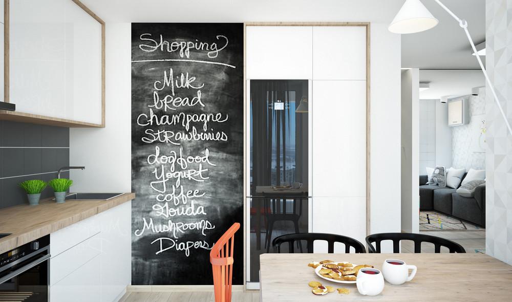 Un bel progetto per arredare un appartamento di 50 mq for Progettare un salone