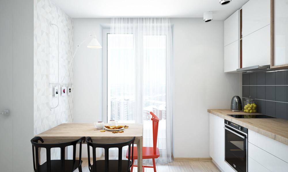 Un bel progetto per arredare un appartamento di 50 mq for Arredare casa 70 mq