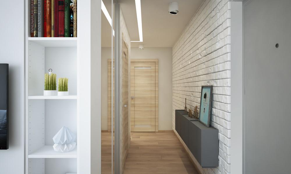 Un bel progetto per arredare un appartamento di 50 mq - Idee per ristrutturare un appartamento ...
