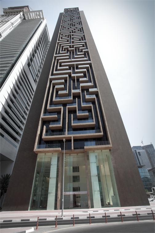 Il labirinto pi grande del mondo un grattacielo for Piani di casa del vecchio mondo