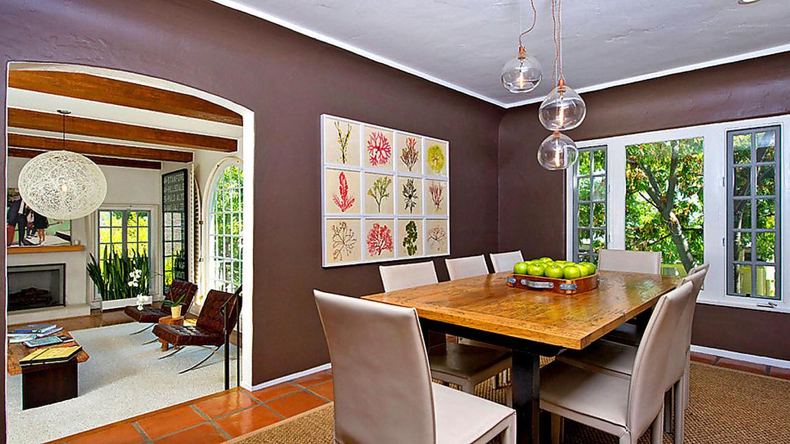 La nuova casa della modella andie macdowell - Arco per dividere soggiorno e cucina ...