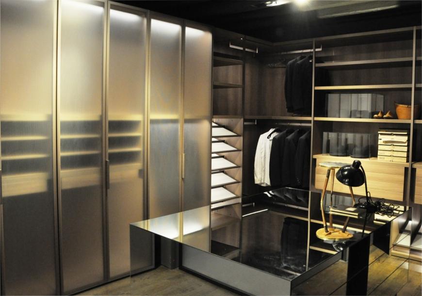 Arredamento le nuove tendenze del design for Arredo cabina armadio
