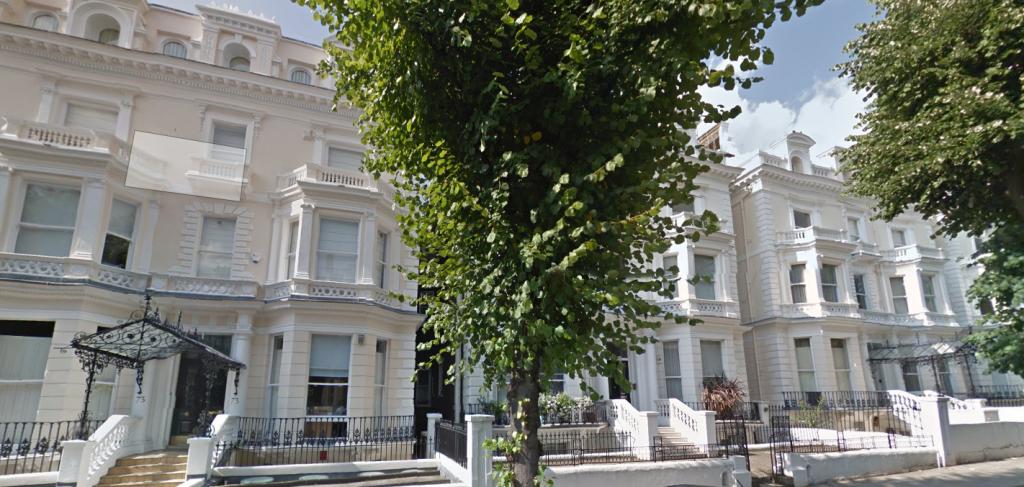 La casa dei Beckham a Londra