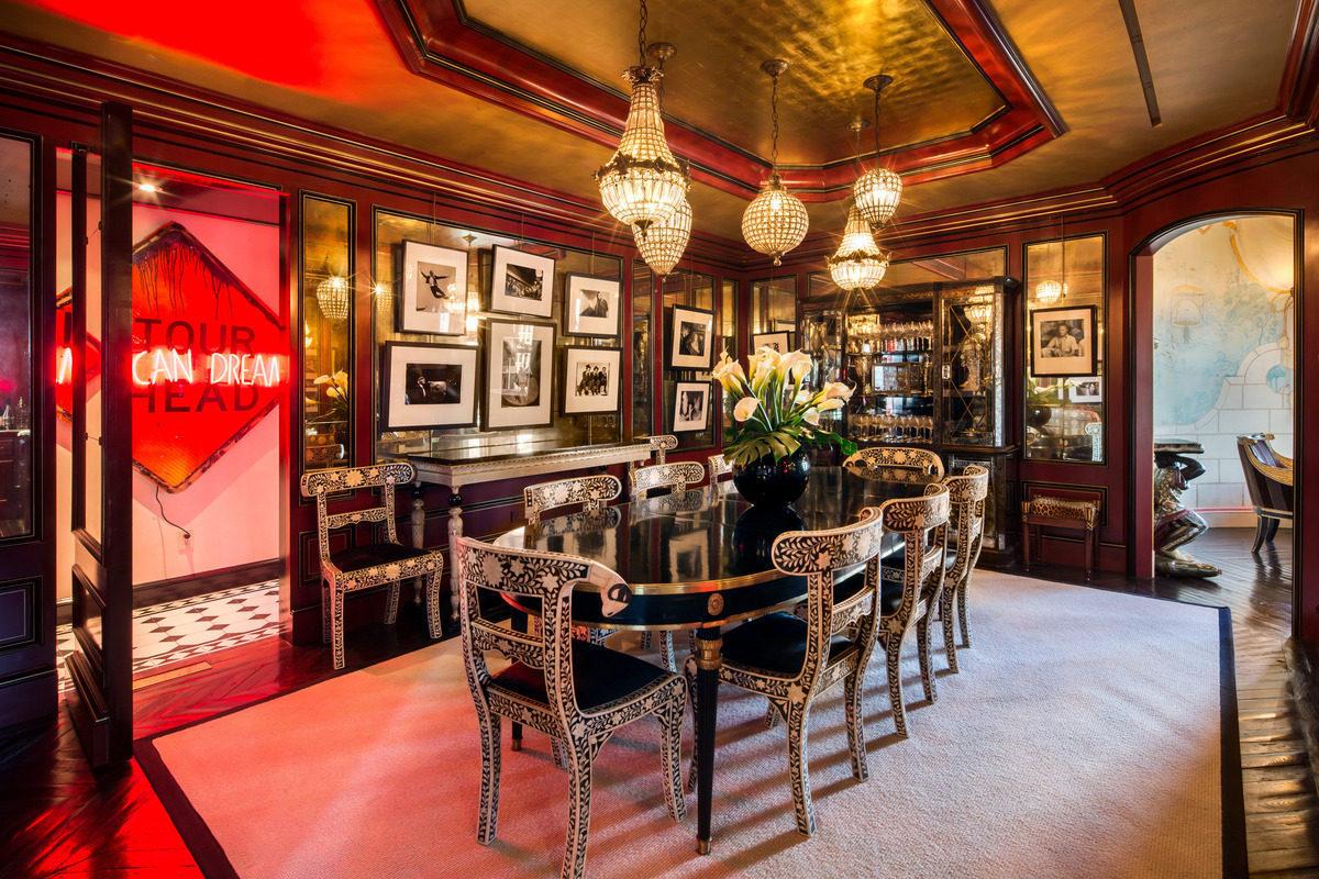 Tommy hilfiger vende il suo stiloso attico per 75 milioni for Piani casa lago stile artigiano