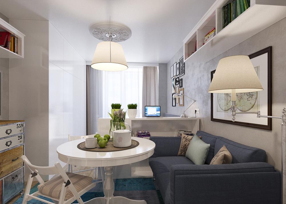 Arredare piccoli spazi l 39 appartamento extrasmall di 25 mq for Arredare un appartamento