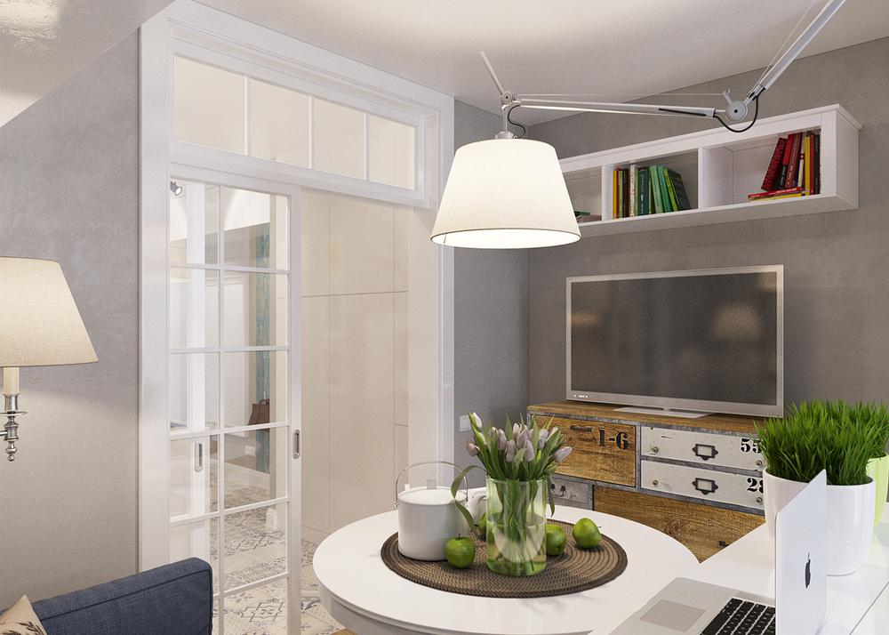 Arredare piccoli spazi l 39 appartamento extrasmall di 25 mq - Ikea piso 25 metros cuadrados ...