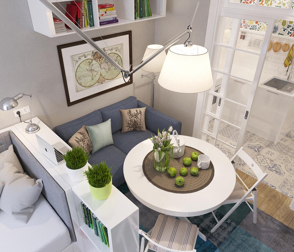 Popolare Arredare piccoli spazi: l'appartamento extrasmall di 25 mq  BQ52