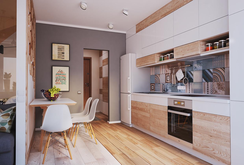 40 mq belli funzionali e moderni for Interior cocinas modernas