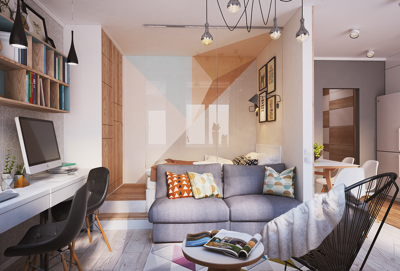 40 mq belli funzionali e moderni - Blog di interior design ...