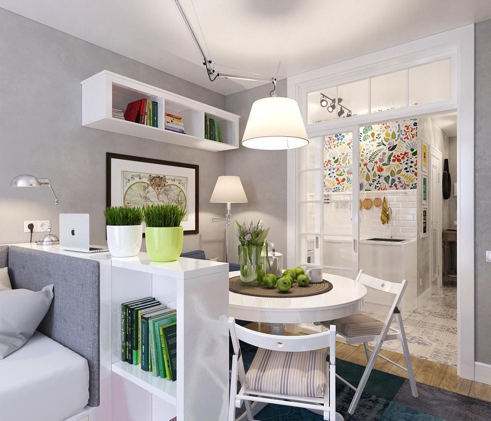 Arredare piccoli spazi: l\'appartamento extrasmall di 25 mq ...