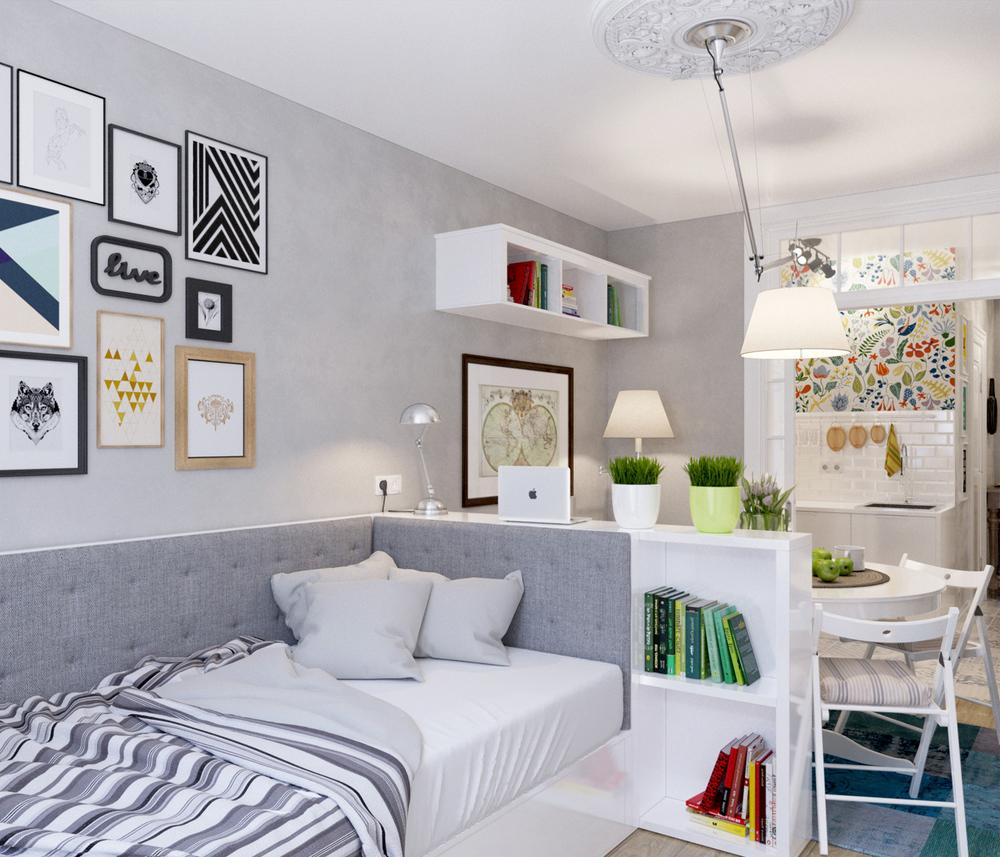 Arredare piccoli spazi l 39 appartamento extrasmall di 25 mq for Piccoli progetti di casa gratuiti
