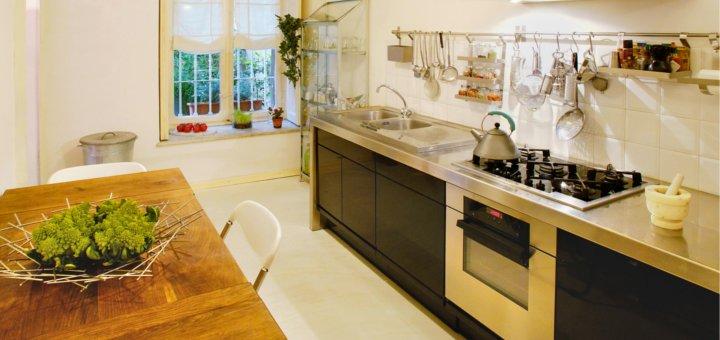 Aumentare lo spazio in cucina - Cucina con soppalco ...