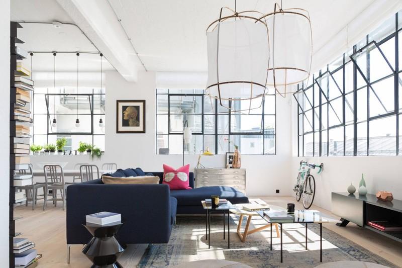 Architettura industriale un loft moderno e luminoso for Bar maison torino