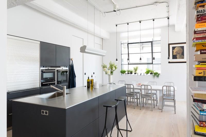 architettura industriale un loft moderno e luminoso